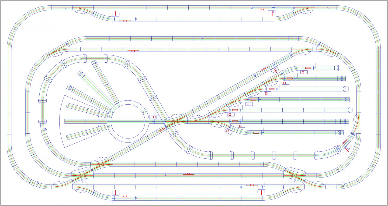 User Interface Controls Operation of Märklin Model Railway