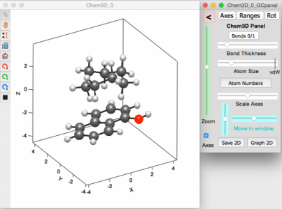 Chem3D screenshot